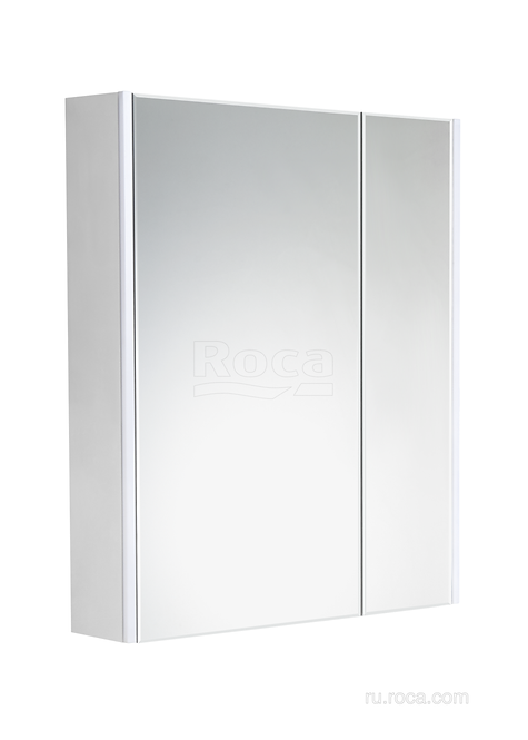Зеркальный шкаф Roca Ronda 70 белый матовый/бетон ZRU9303008