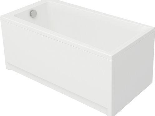 Акриловая ванна LORENA 140 с рамой и панелью