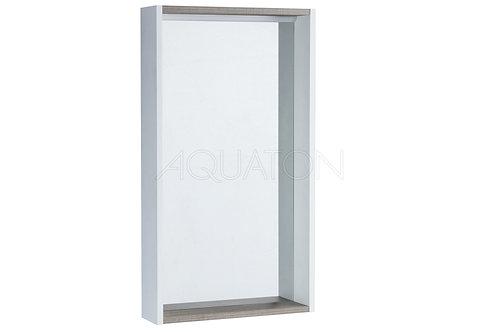 Зеркало Aquaton Бэлла белый, джарра 1A221702BBAZ0
