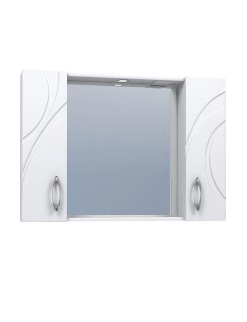 MIRELLA 100 Шкаф-зеркало с свет.