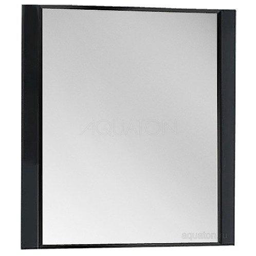 Зеркало Aquaton Ария 80 черный глянец 1A141902AA950