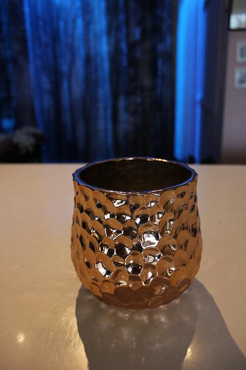 "Cache-pot 5"" bronze"