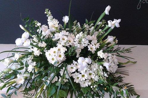 Coussin de cercueil champêtre