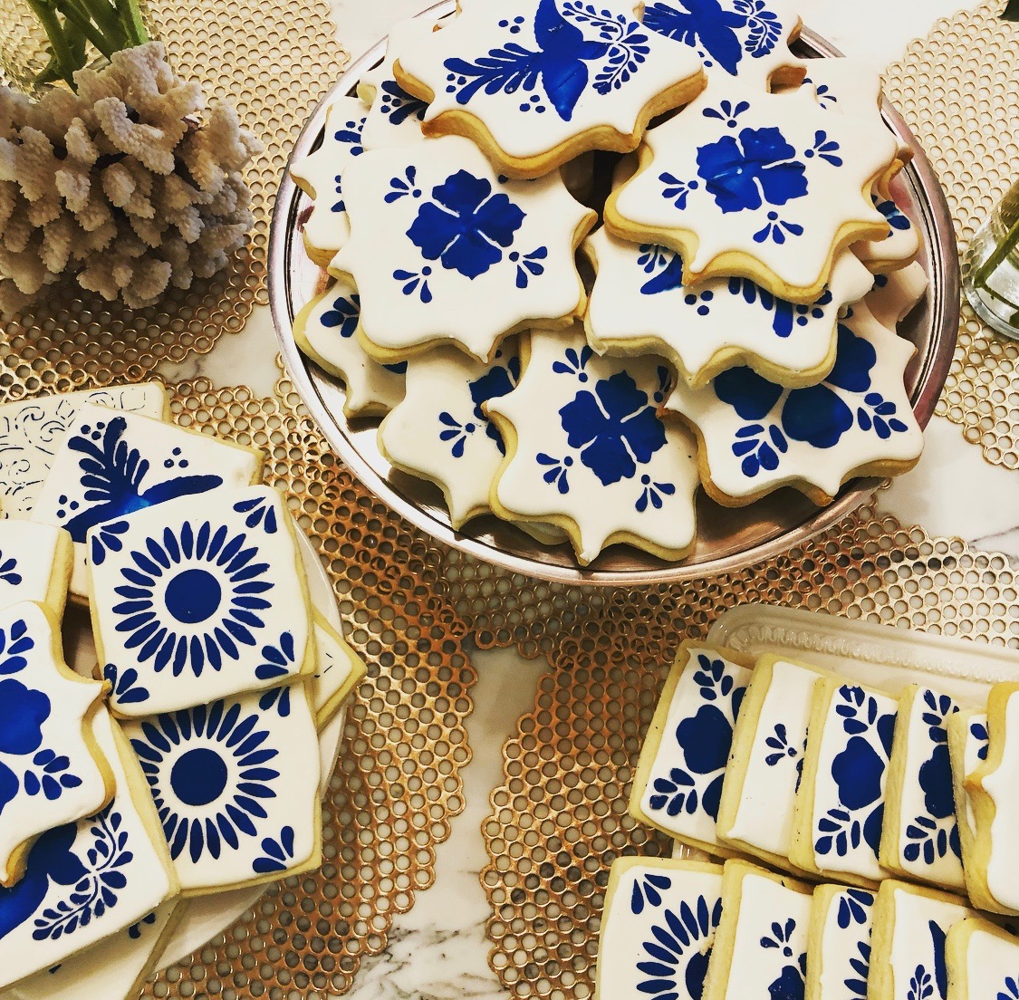 Spanish Tile Cookies