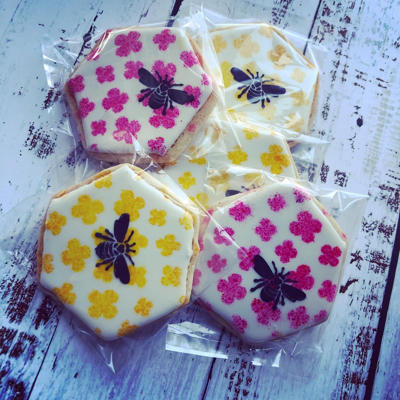 Sugar Cookies-Bees