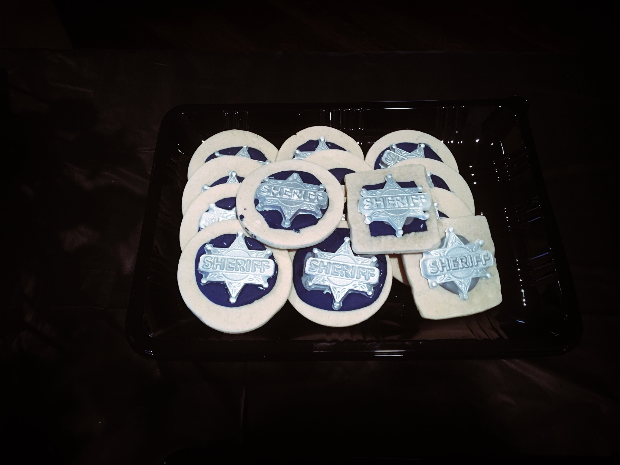 Sheriff Sugar Cookies