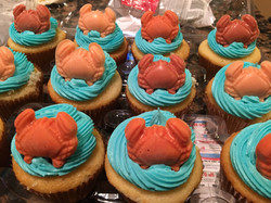 Crabby Cup Cakes
