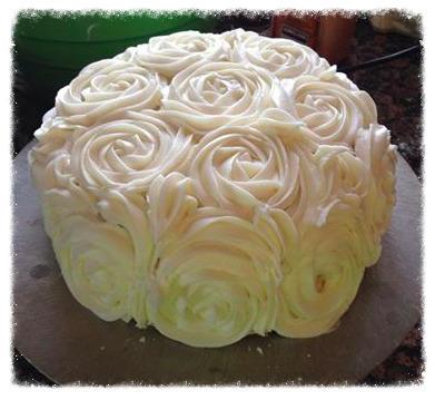 Rose Carrot Cake