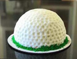 Golfball Cake