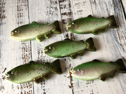 Trout Cookies-Airbrushed