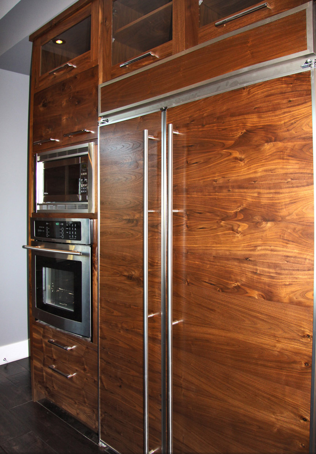 Contemporary Walnut Masterpiece