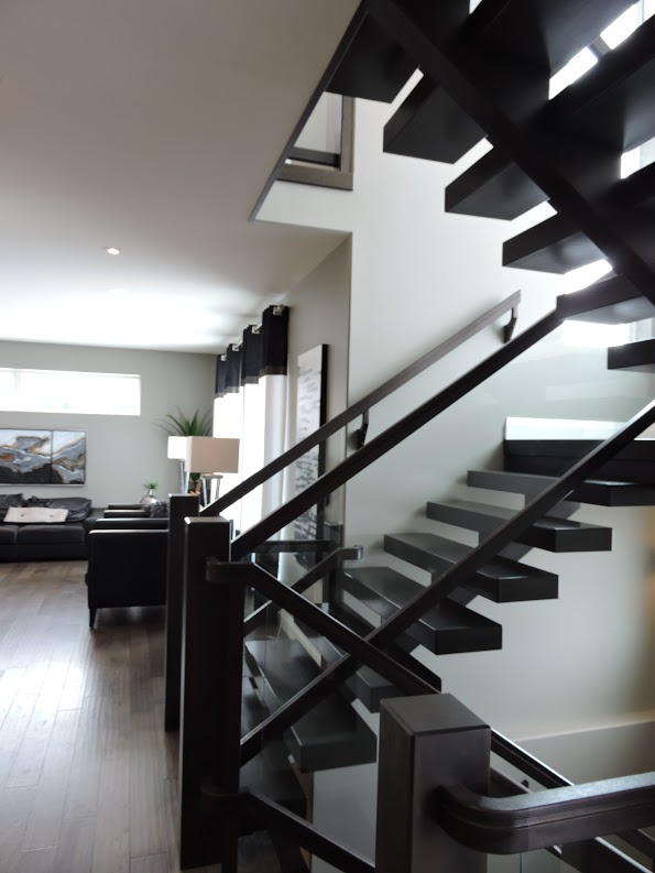 Single Stringer Beam Stairs