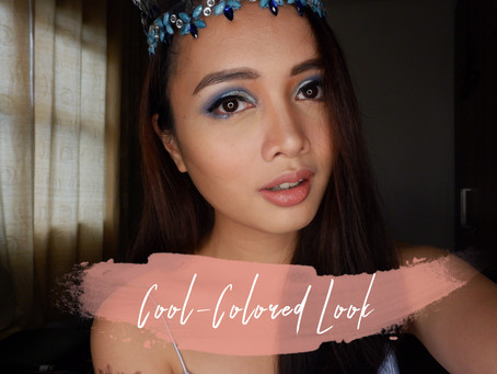Cool-Colored Miss World Crown-Inspired Look
