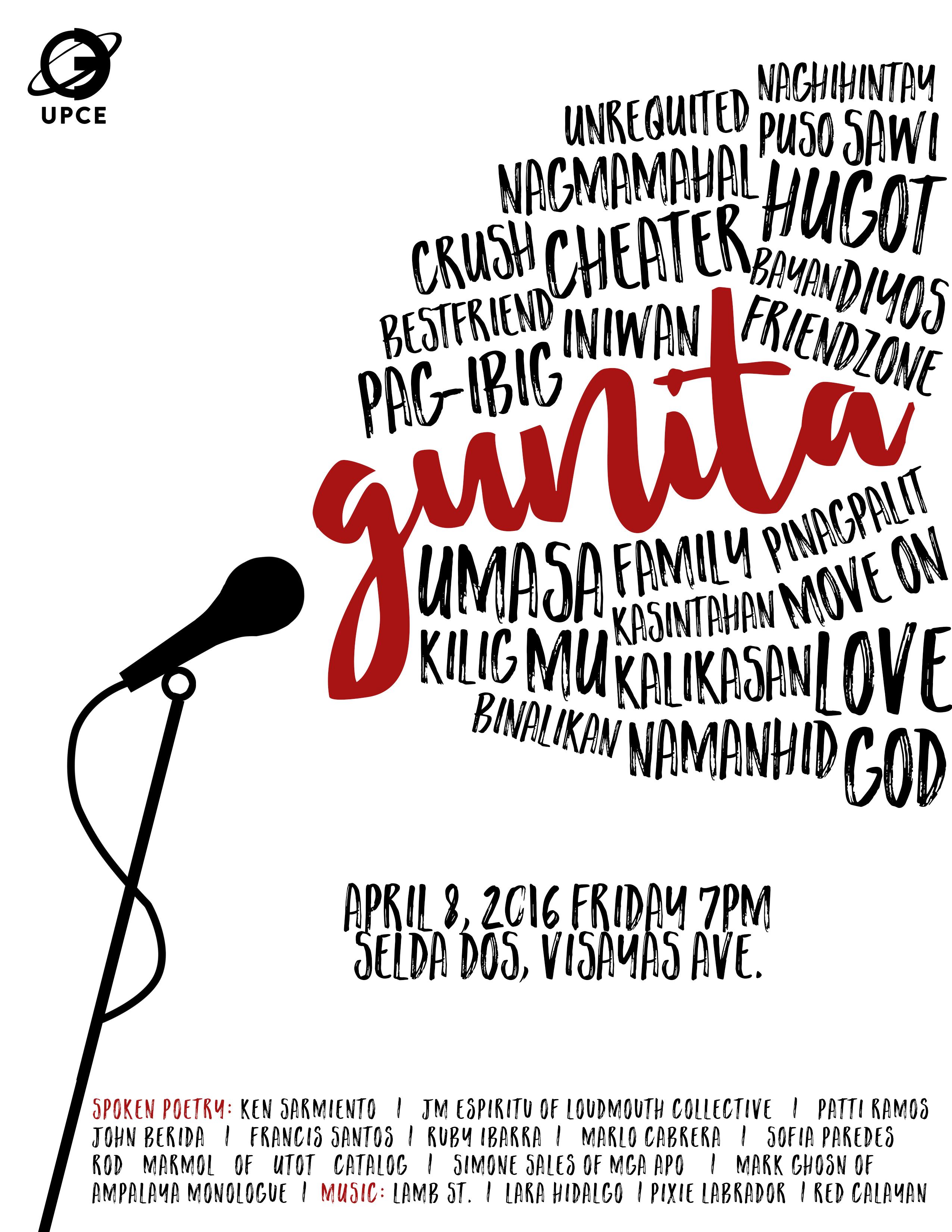 Spoken Poetry Event