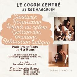 Cocon Centré 9h-12h
