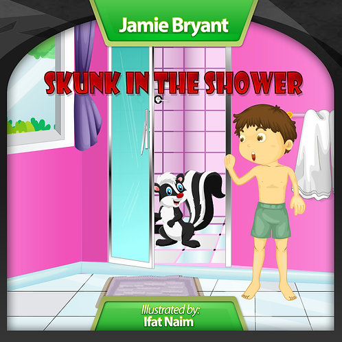 Skunk in the Shower