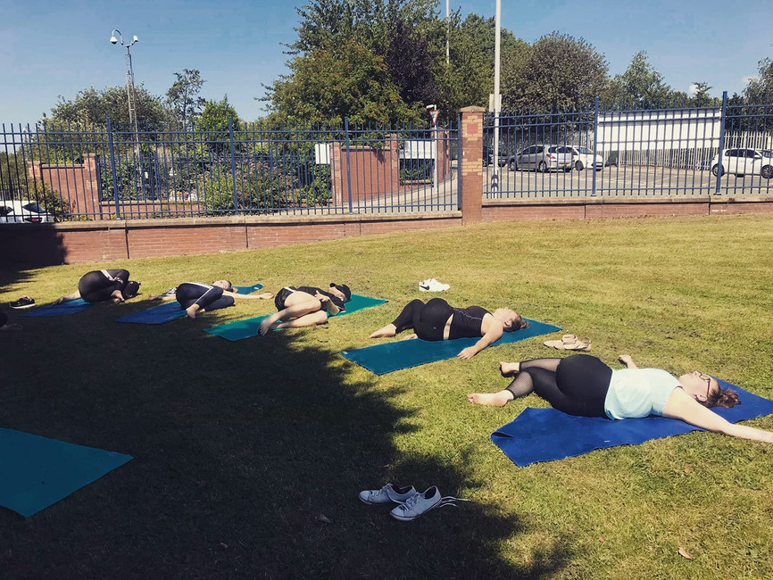 Weekly wellbeing sessions