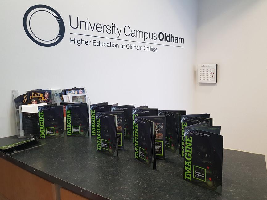Imagine Digital Games Art Symposium at University Campus Oldham