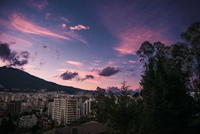 Atardecer Quito