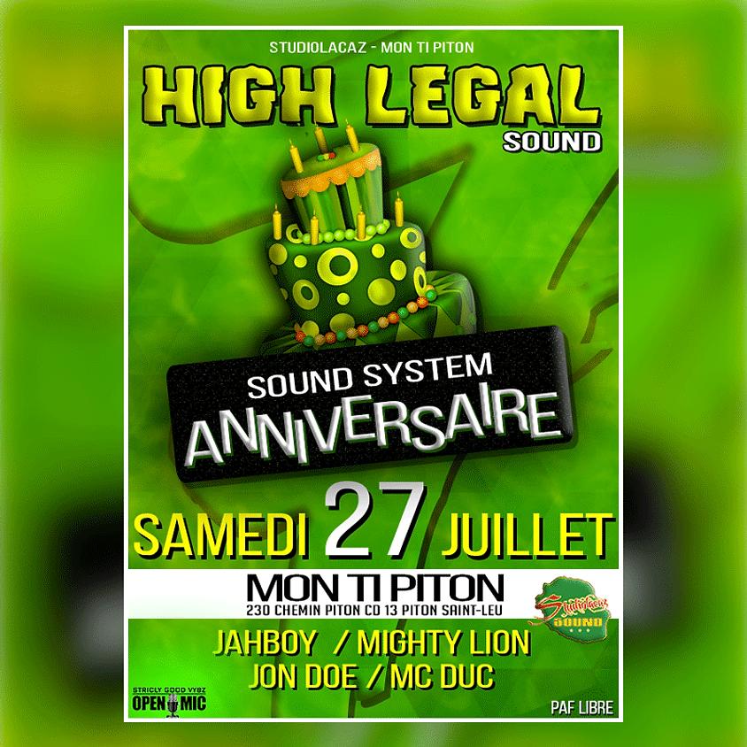High Legal Sound Birthday
