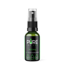 Pure 100 500mg CBD Oil Spray Review