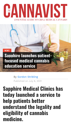 Sapphire Launches Patient-Focused Medical Cannabis Education Service