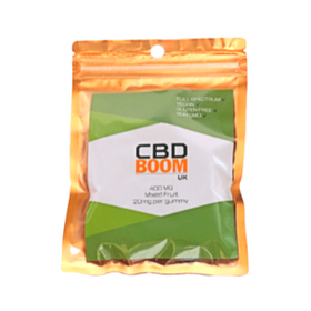 CBD Boom Organic CBD 20mg Gummies Review