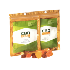 CBD Boom Organic CBD 20mg Gummies Review