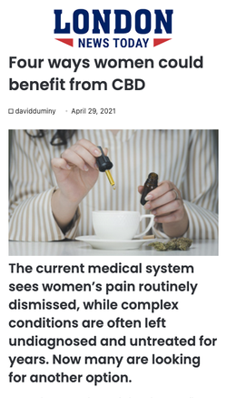 Four Ways Women Could Benefit From CBD