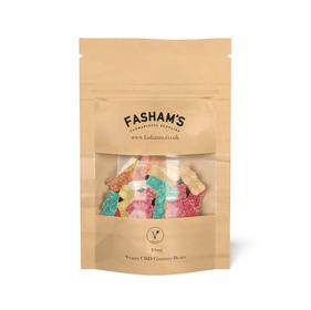 Fasham's CBD Vegan Gummy Bears Review