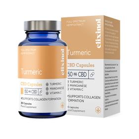 Elixinol Turmeric CBD Capsules Review