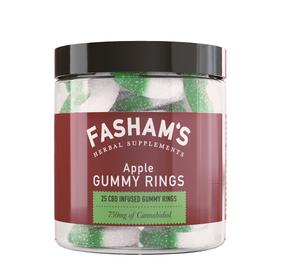 Fasham's CBD Apple Gummy Rings Review