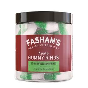 Fasham's CBD Apple Gummy Rings