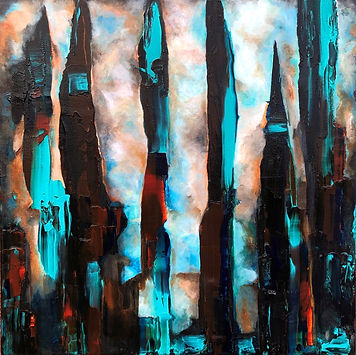 Industry abstract art expressionism Lou