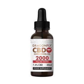 Dragonfly CBD Narrow Spectrum 2000mg CBD Oil Review