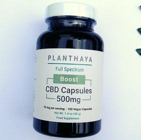 Planthaya Boost CBD Capsules Review
