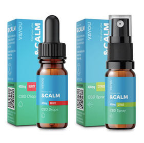 V&You &Calm 400mg CBD Oil Review