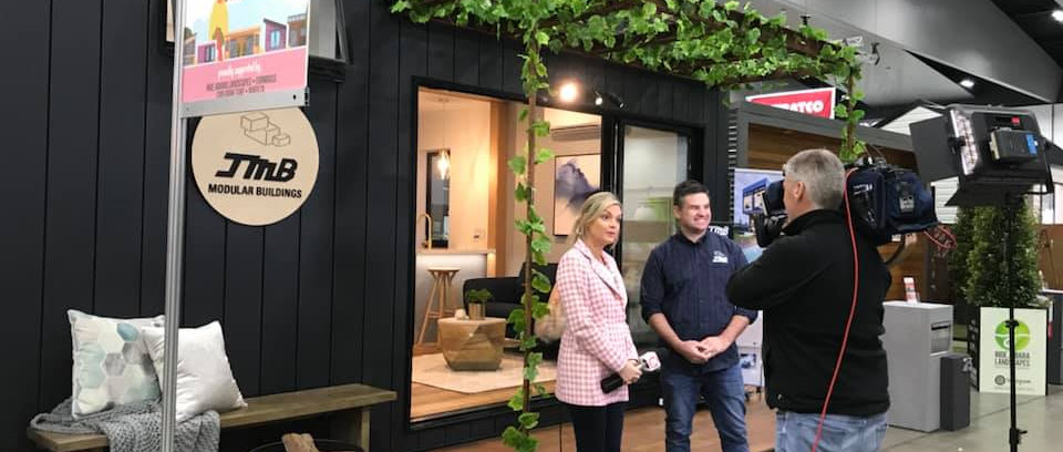 jmb modular builder shepparton melbourne home show studio 10 tv interview