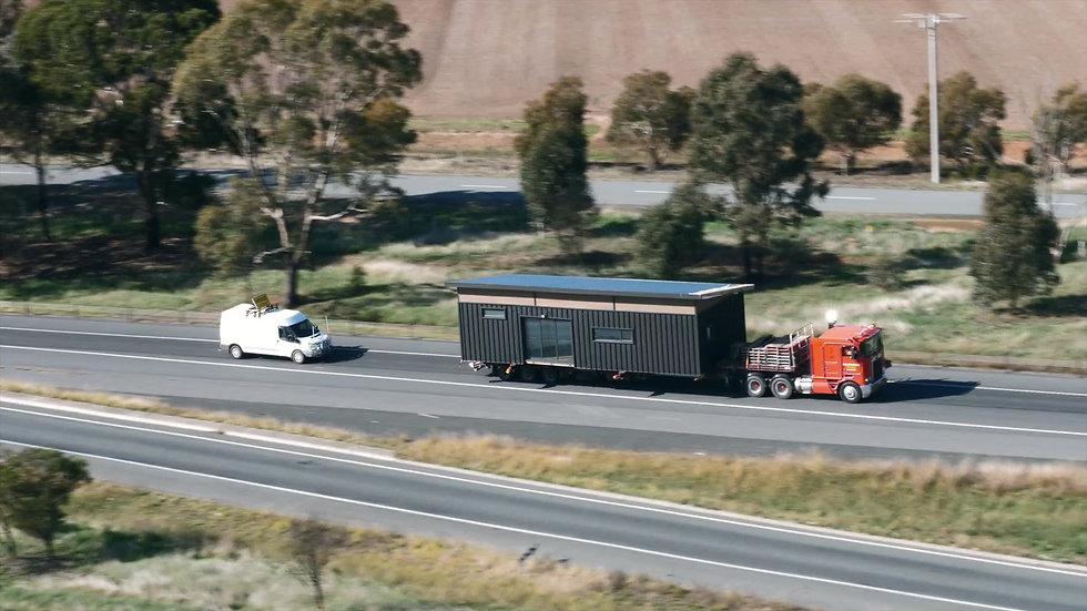 jmb modular builder display transport nautic design truck helicopter road construction prefab kialla