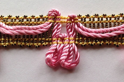 Pink Tassels with Yellow Detail