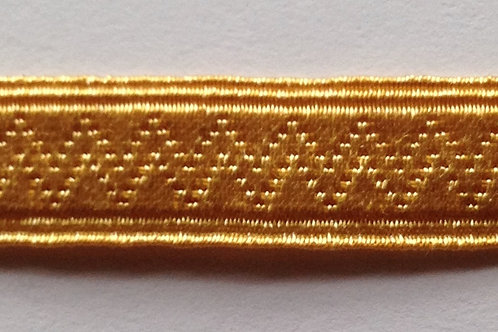 Gold Toned with Intricate Woven Detail