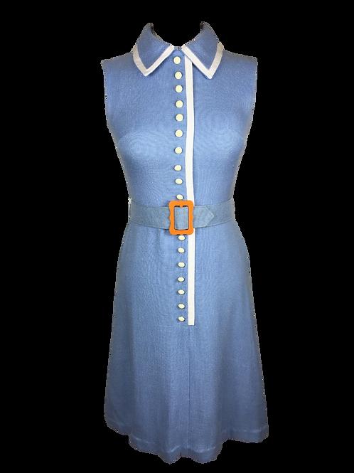 Berkertex Blue Linen Dress