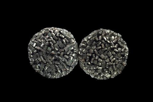 Metal Textured Earrings
