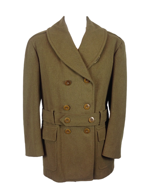 WWll US Army Officer Overcoat