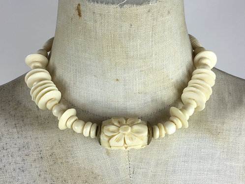 Carved Plastic Choker