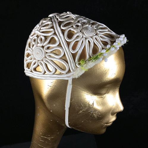 Wedding Hat With Wedding Dress