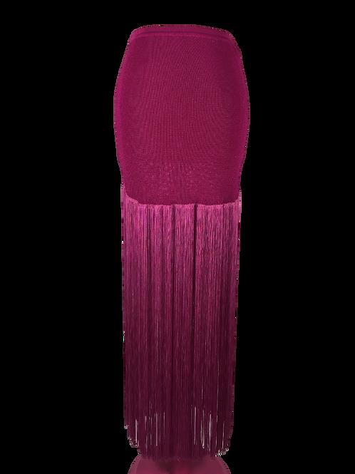 Jean Paul Gaultier Fringe Skirt