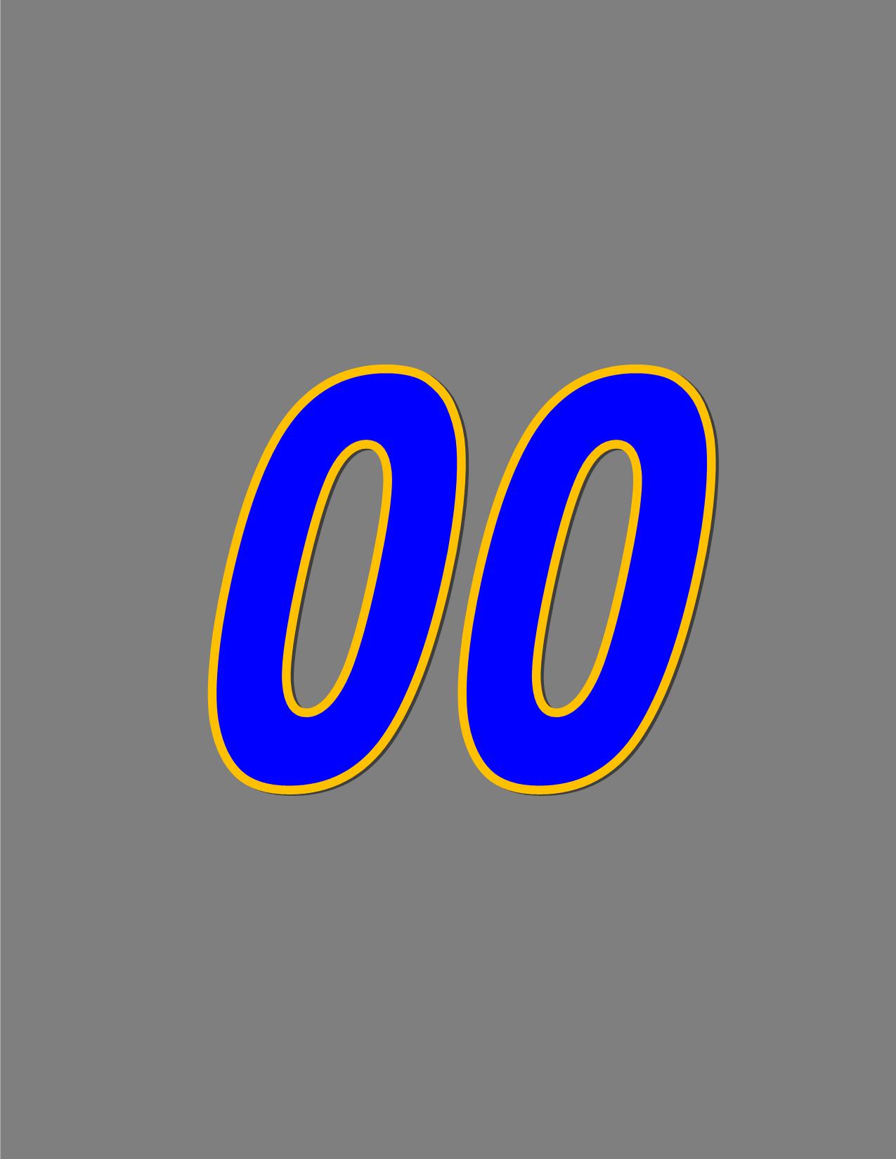 Number 00