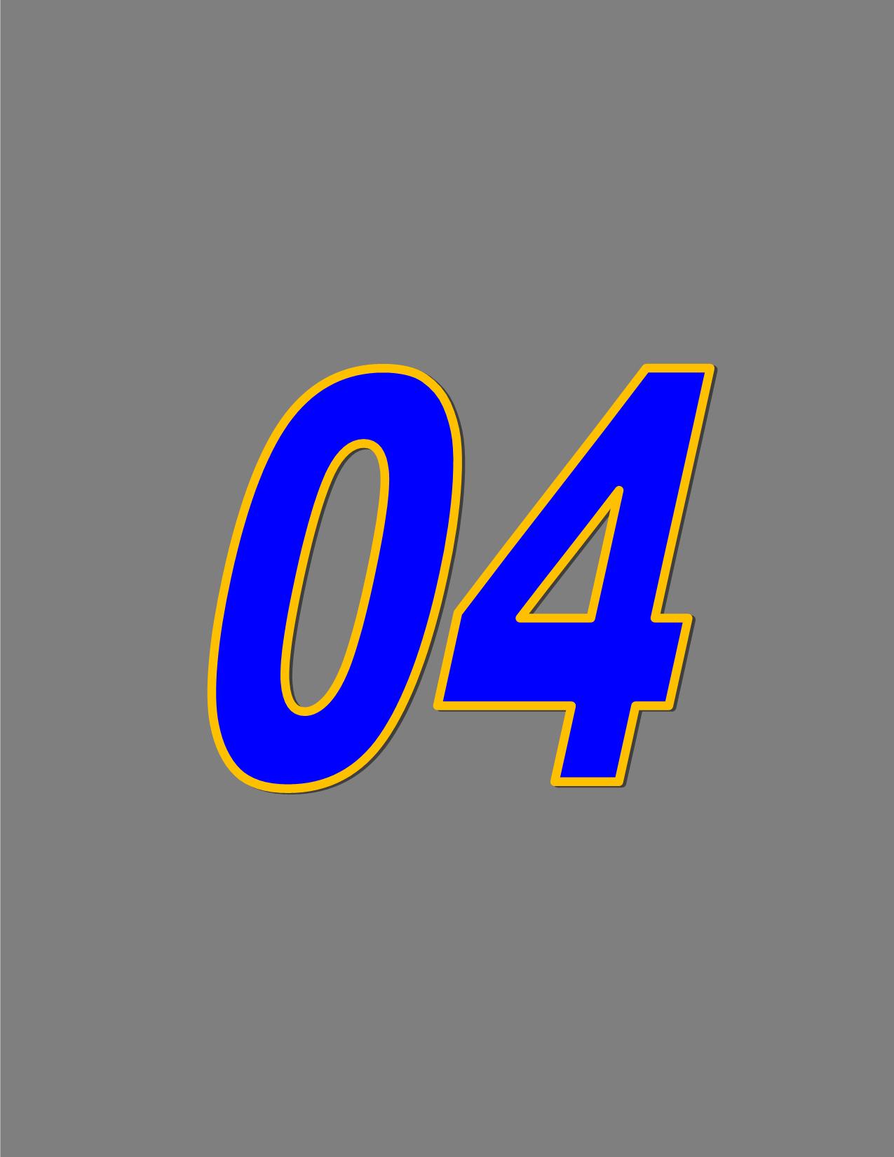 Number 04