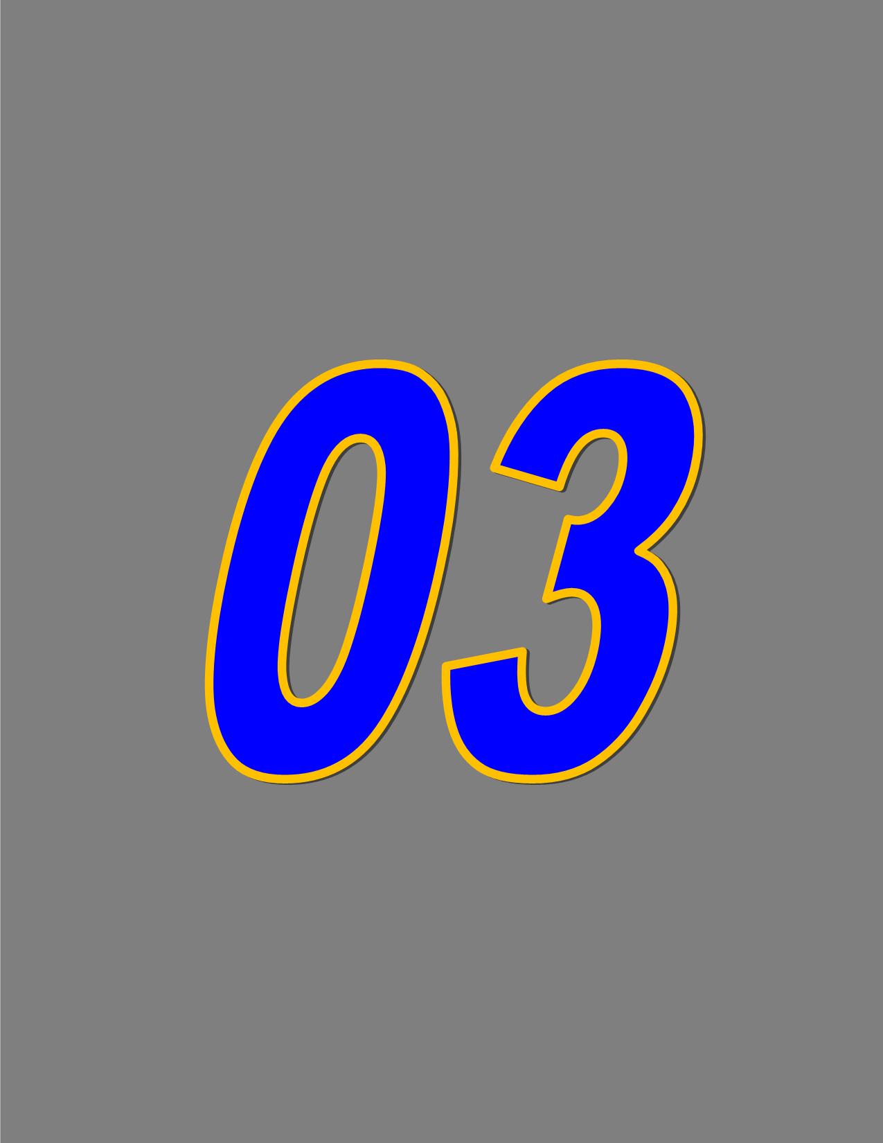 Number 03